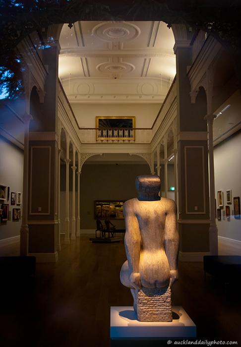 A peek through the Art Gallery window ll