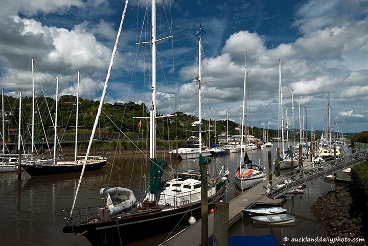 The Whangarei Marina