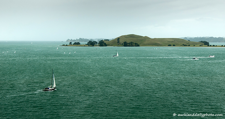 Wintery day at the Waitemata
