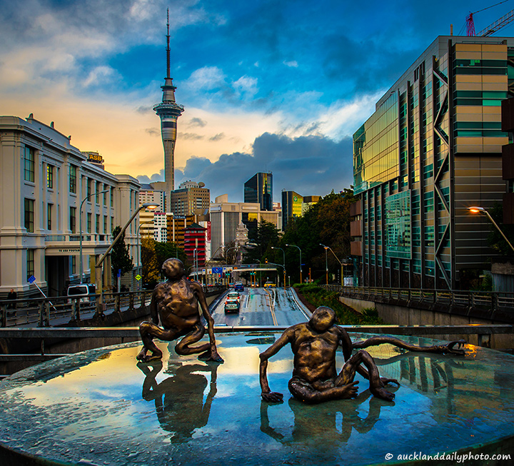 Aliens in Auckland