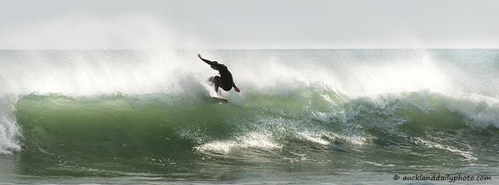 Surfing acrobatics