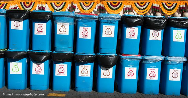 Diwali rubbish