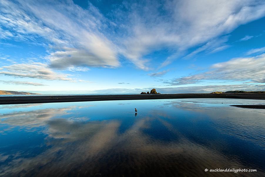 Whatipu Beach