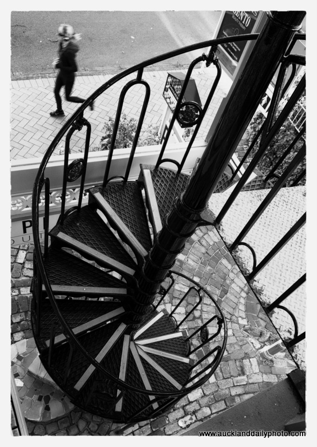 Spiral stair Parnell Road