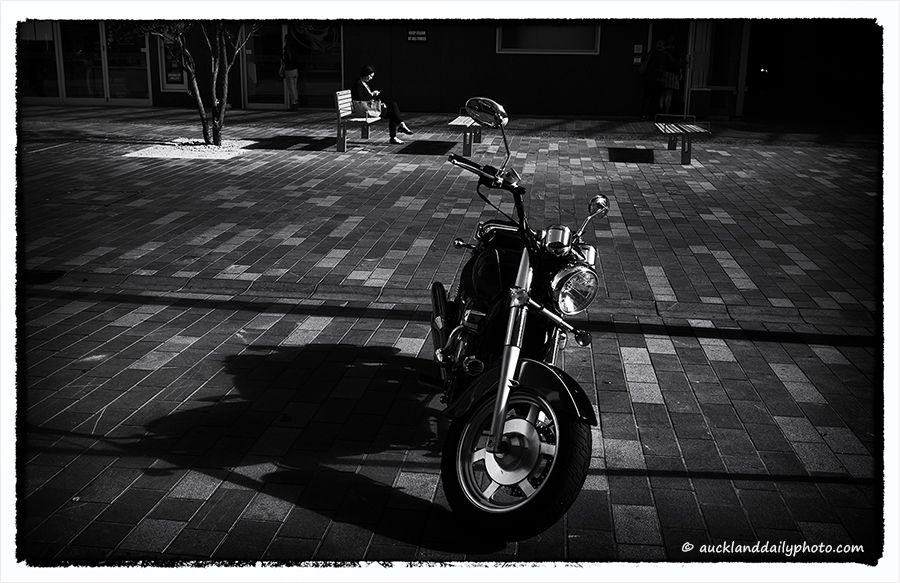 Downtown Auckland Street Scene